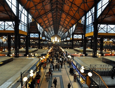 Central Market Hall | Budapest, Hungary | Travel BL