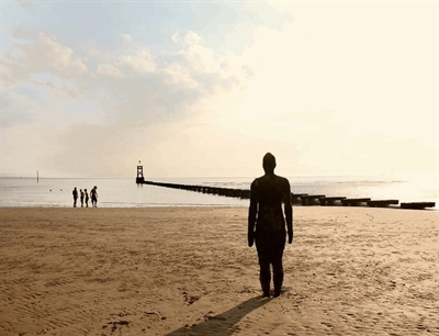 Crosby Beach | Liverpool, England,UK | Travel BL