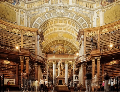Explore the Austrian National Library | Vienna, Austria | Travel BL