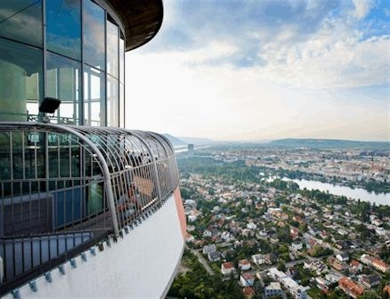 Go to top of the Danube Tower | Vienna, Austria | Travel BL