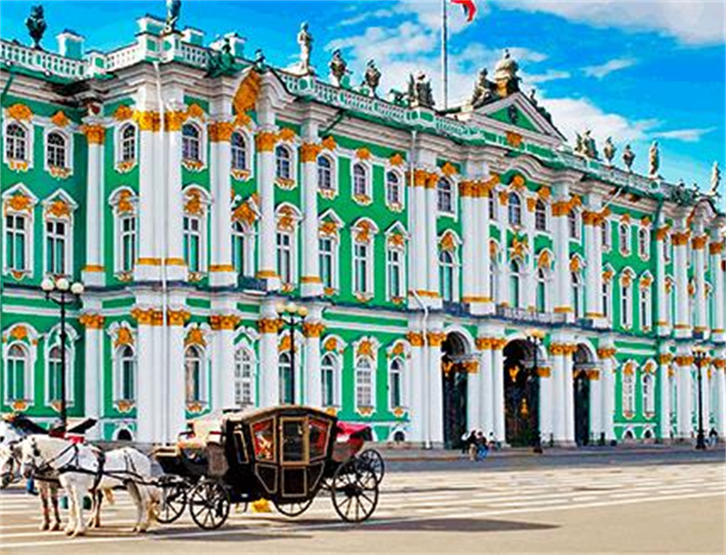 Hermitage Museum | St. Petersburg, Russia | Travel BL