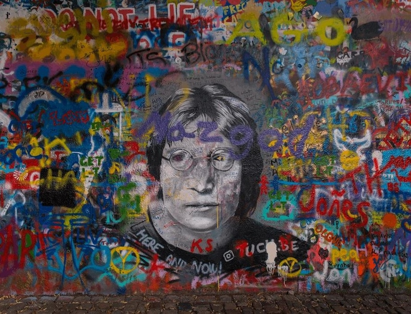 Lennon Wall | Prague, Czech Republic | Travel BL