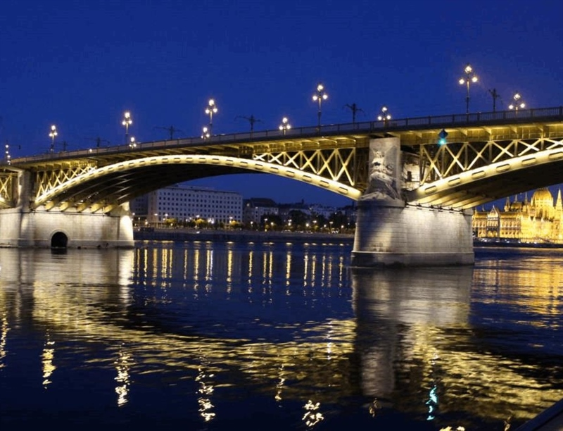 Margaret Bridge | Budapest, Hungary | Travel BL