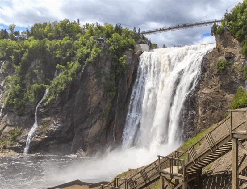Montmorency Falls | Quebec City, Canada | Travel BL