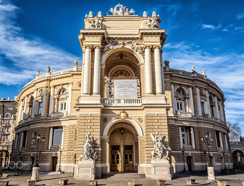 Odessa National Academic Theater of Opera and Ballet | Odessa, Ukraine | Travel BL