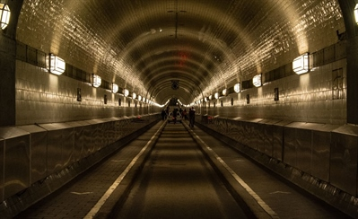 Pass through the Alter Elbtunnel | Hamburg, Germany | Travel BL