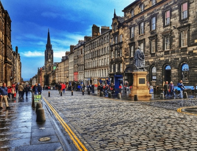 Royal Mile | Edinburgh, Scotland,UK | Travel BL