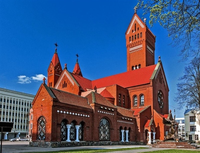 Saints Simon and Helena Church | Minsk, Belarus | Travel BL