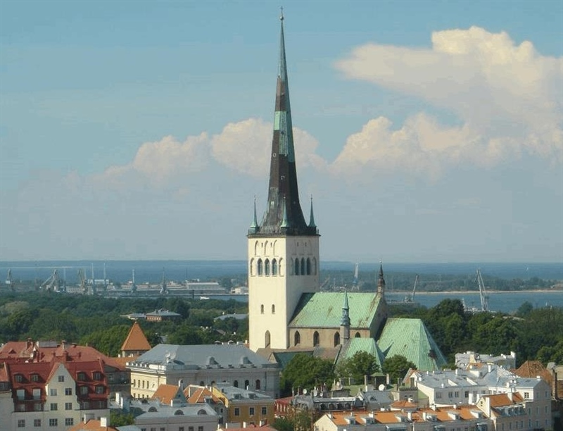 St Olaf's Church | Tallinn, Estonia | Travel BL