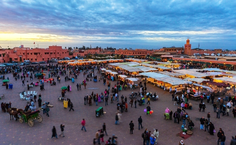 Stroll around The Medina | Marrakech, Morocco | Travel BL