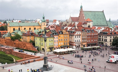Stroll around the Old City | Warsaw, Poland | Travel BL