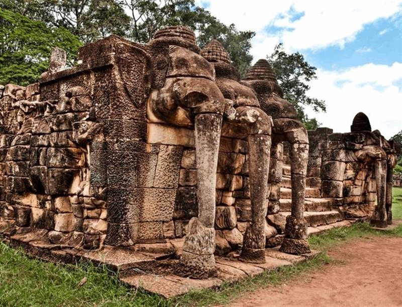 Terrace of the Elephants | Krong Siem Reap, Cambodia | Travel BL