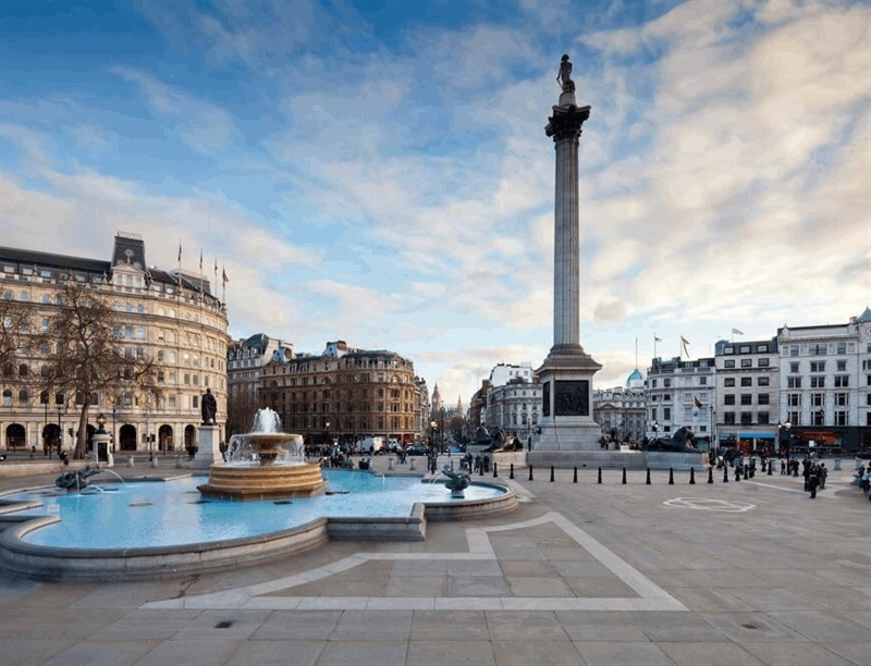 Trafalgar Square | London, England,UK | Travel BL