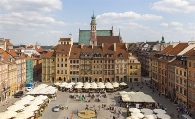 Walk around the Old Town Market Square | Warsaw, Poland | Travel BL