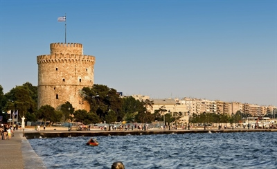 Watch  the city from the White Tower | Thessaloniki, Greece | Travel BL