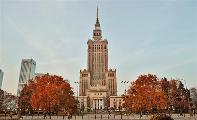 Watch the view on the top of Palace of Culture and Science | Warsaw, Poland | Travel BL